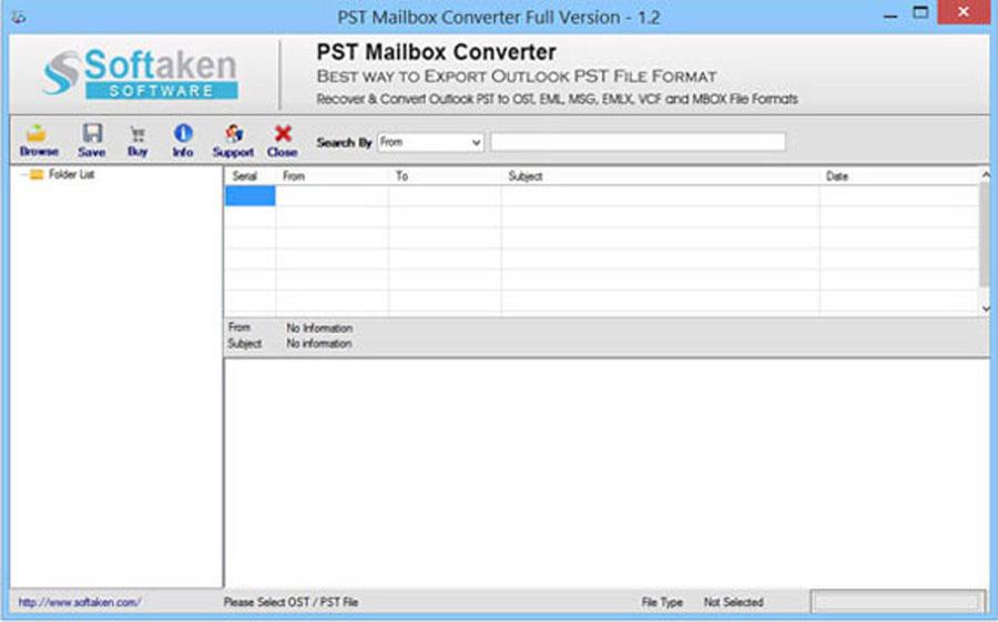 Windows 7 PST to EML Converter as Outlook Convert 1.2 full